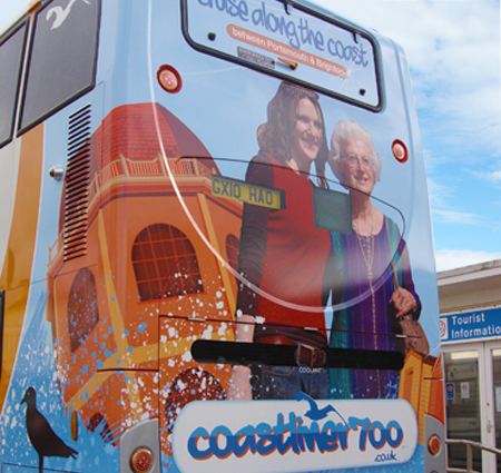 Bus graphics van graphics