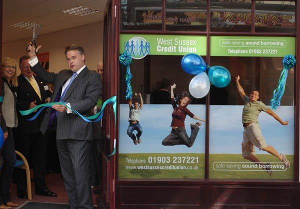 Tim Loughton officially opens West Sussex Credit Union