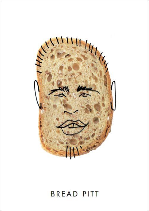 Brad Pitt does Bread Pitt