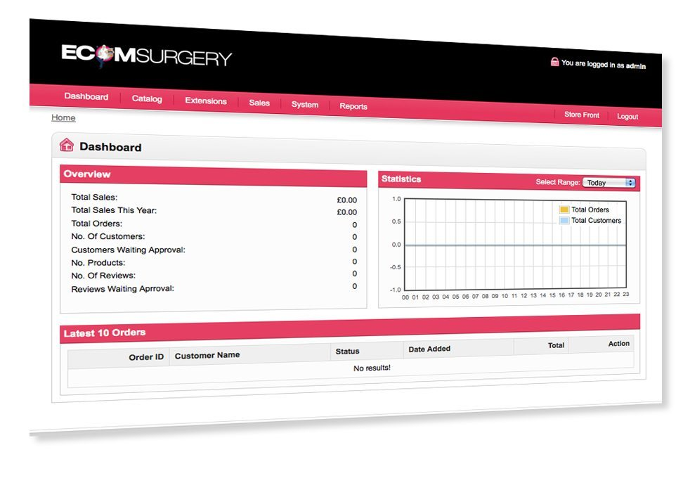 Ecomsurgery is an ecommerce system from The Brand Surgery