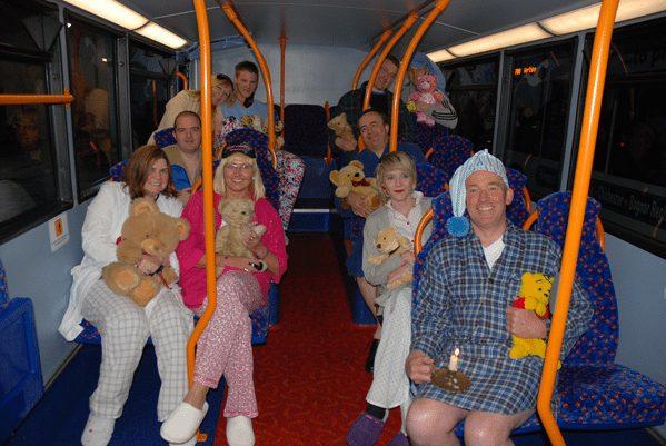 The Coastliner N700 nightbus