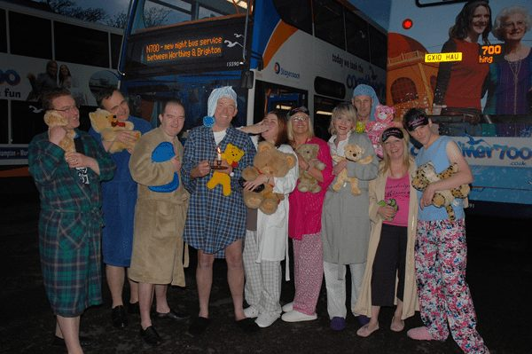 The Brand Surgery dress up for Coastliner N700 launch