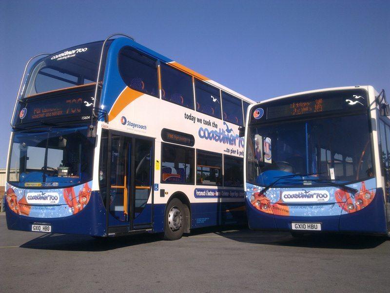 Coastliner 700 bus design