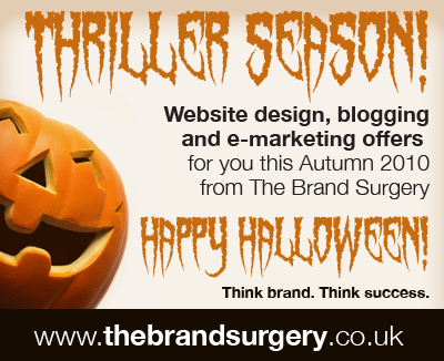 It's Thriller Time! Halloween Offers from The Brand Surgery