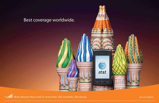 Amazing advertising concept – great brand recognition