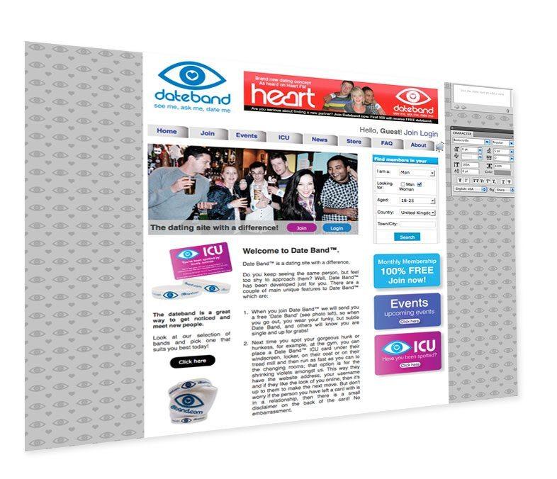 Dateband website has gone live!