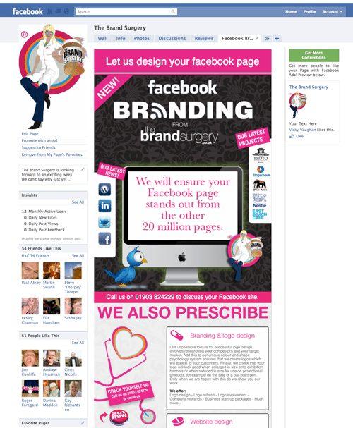 Facebook branding