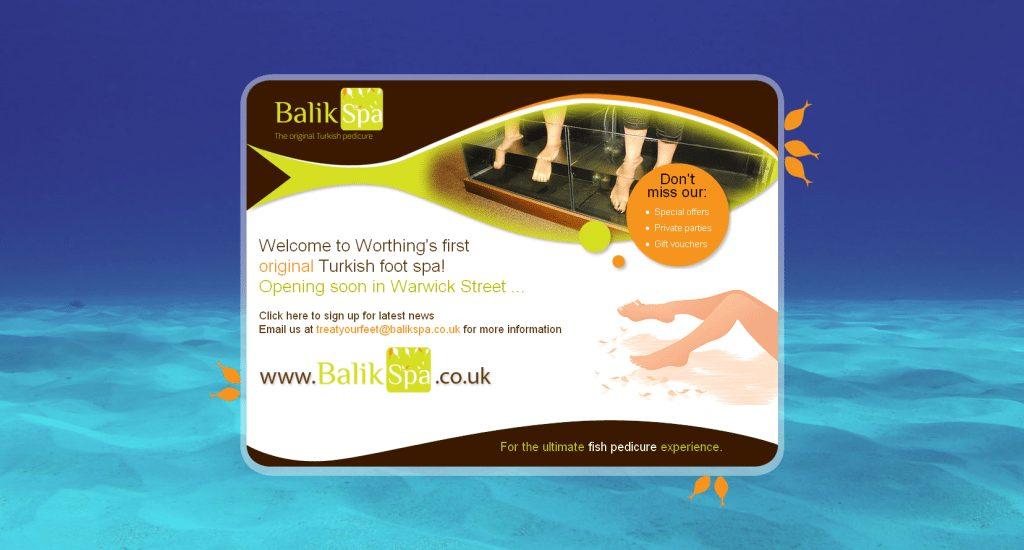 Balik Spa Holding Page