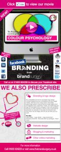 Facebook branding by The Brand Surgery