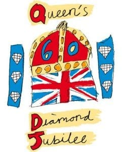 Official Diamond Jubilee logo