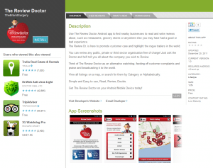 The Review Doctor on Android Market