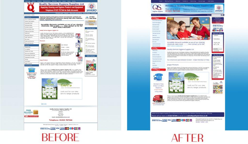 Quality Services - Comparison