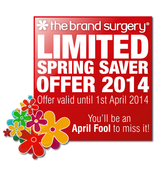 Six Spectacular Limited Spring Saver Offers from The Brand Surgery