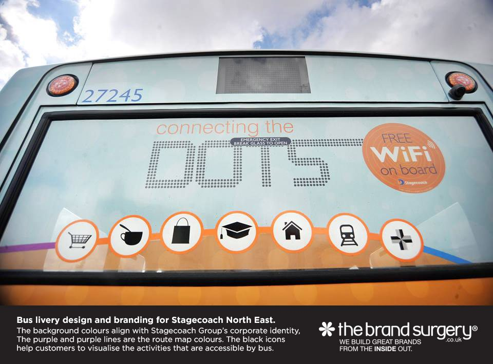 Vehicle, bus, train, car and taxi livery design