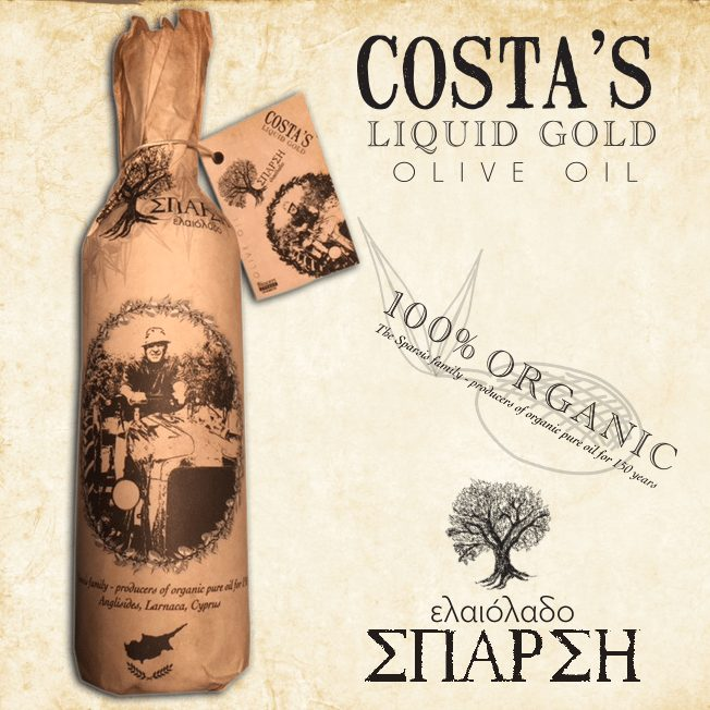 Costa's Liquid Gold Olive Oil