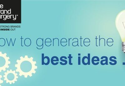 How to generate the very best ideas