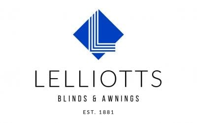 Corporate Identity / logo design for Lelliotts Blinds and Awnings