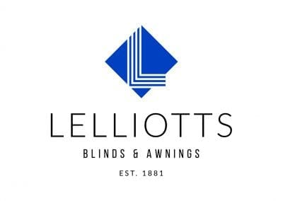 logo design / rebrand for retail sector – Lelliotts Blinds and Awnings