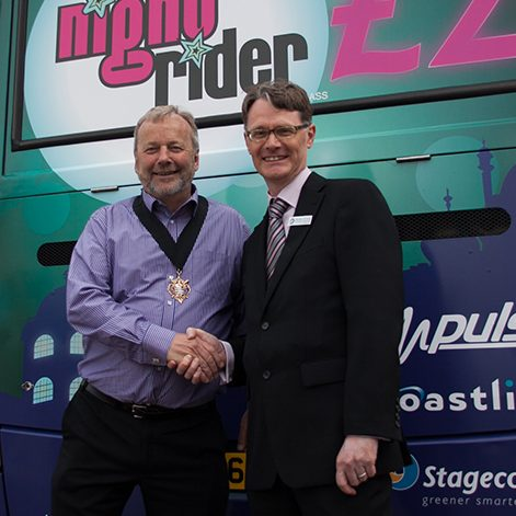 Stagecoach night rider launch