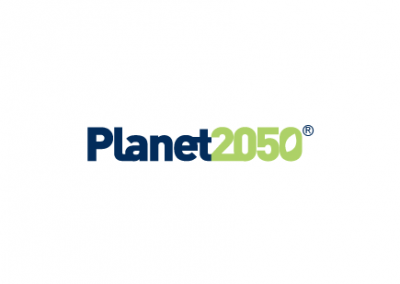 Corporate Social Responsibility Strategy and Visual Branding – Planet 2050