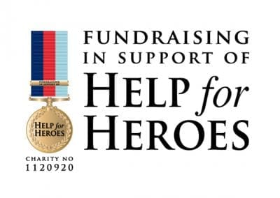 Charity fundraising event organisation for Help for Heroes