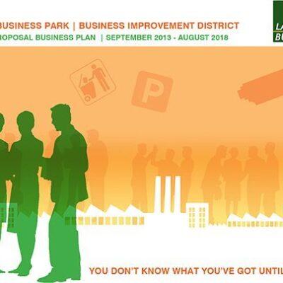 BID brochure marketing for Lancing Business Park