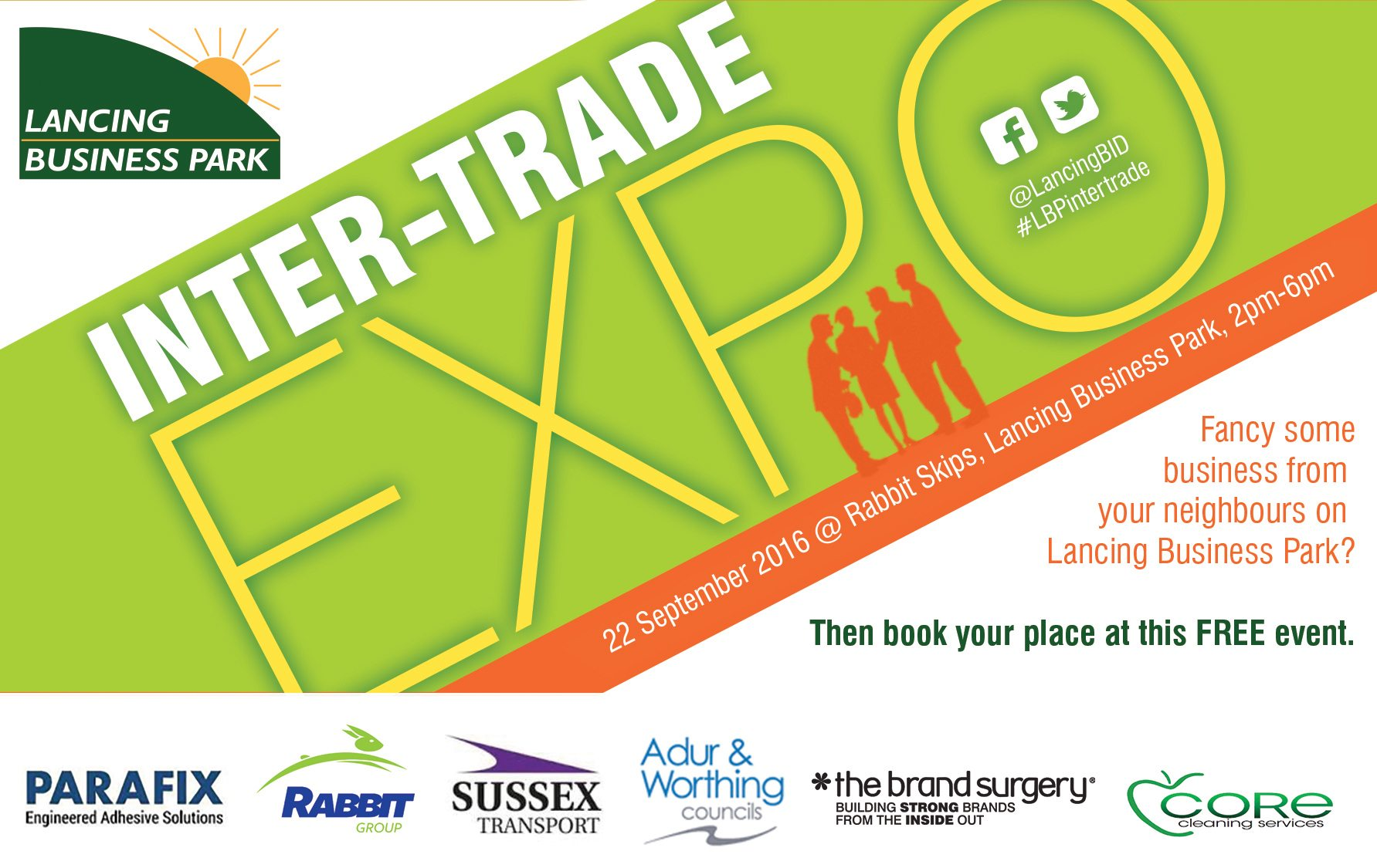 Lancing Business Park intertrading event