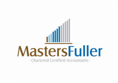 Logo design and Corporate Identity for Chartered Accountants – MastersFullers