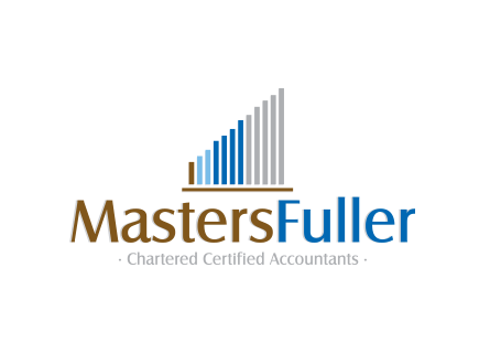 Logo design and Corporate Identity for Chartered Accountants - MastersFullers