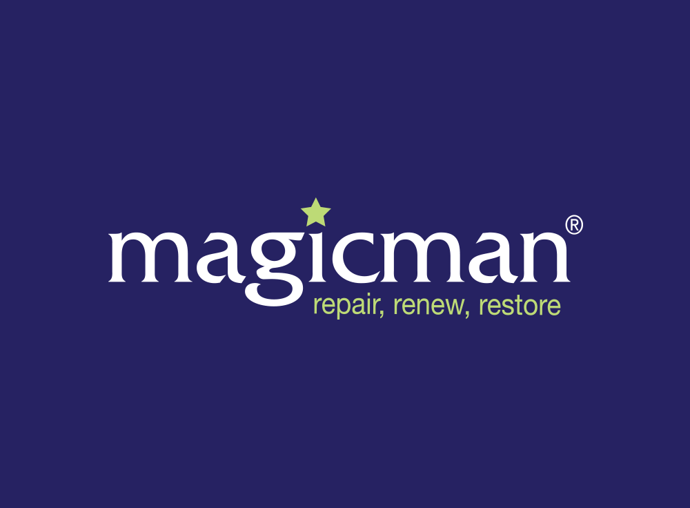 Logo design construction industry MagicMan