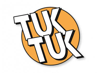 Website design for Tuk Tuk Cafe