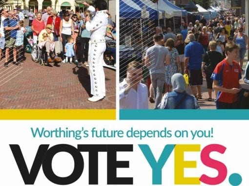 Worthing BID – Town Centre branding and marketing