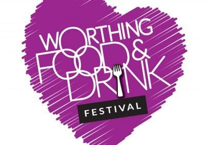 Logo design – Worthing Food and Drink Festival