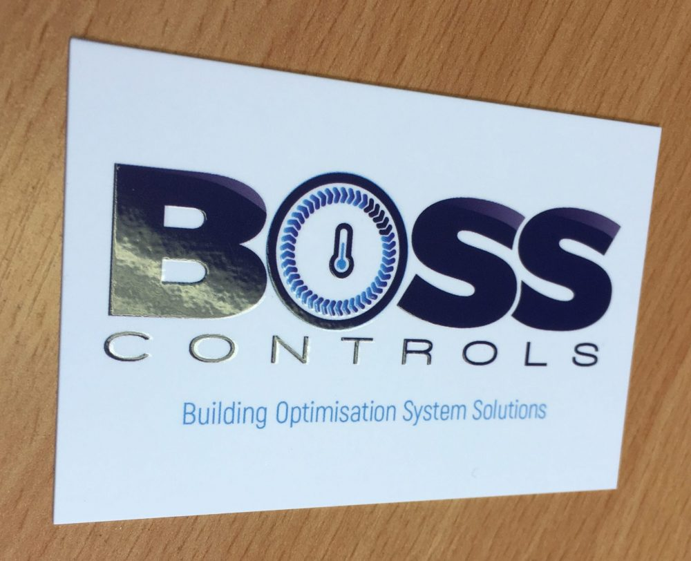 Logo design - business card - BOSS CONTROLS