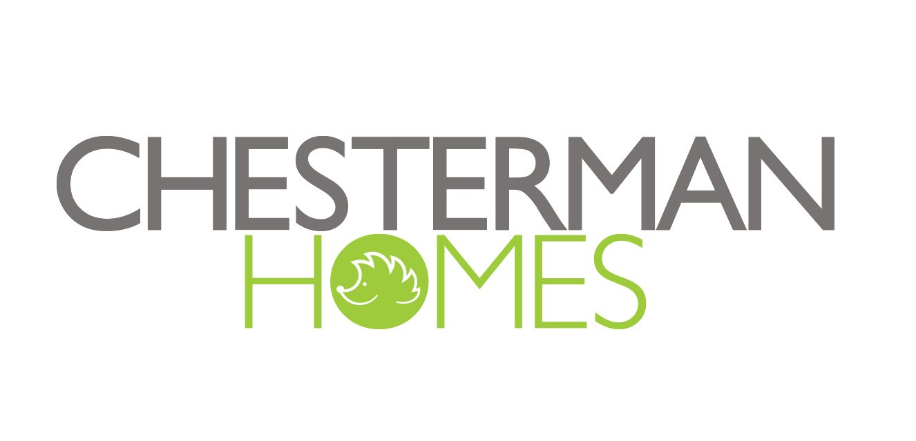 Logo design for property developer, Chesterman Homes. The project consisted of market research, business name creation, logo design and company values