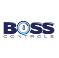 Boss Controls - Building Energy Management Services - logo design and branding