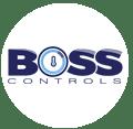 Boss Controls - Building Energy Management Services - logo design and branding