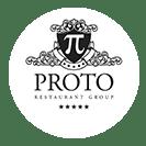 Proto restaurant group Fat Greek Restaurant logo design