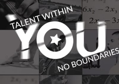 Charity relaunch and rebrand: Talent Within You: No Boundaries