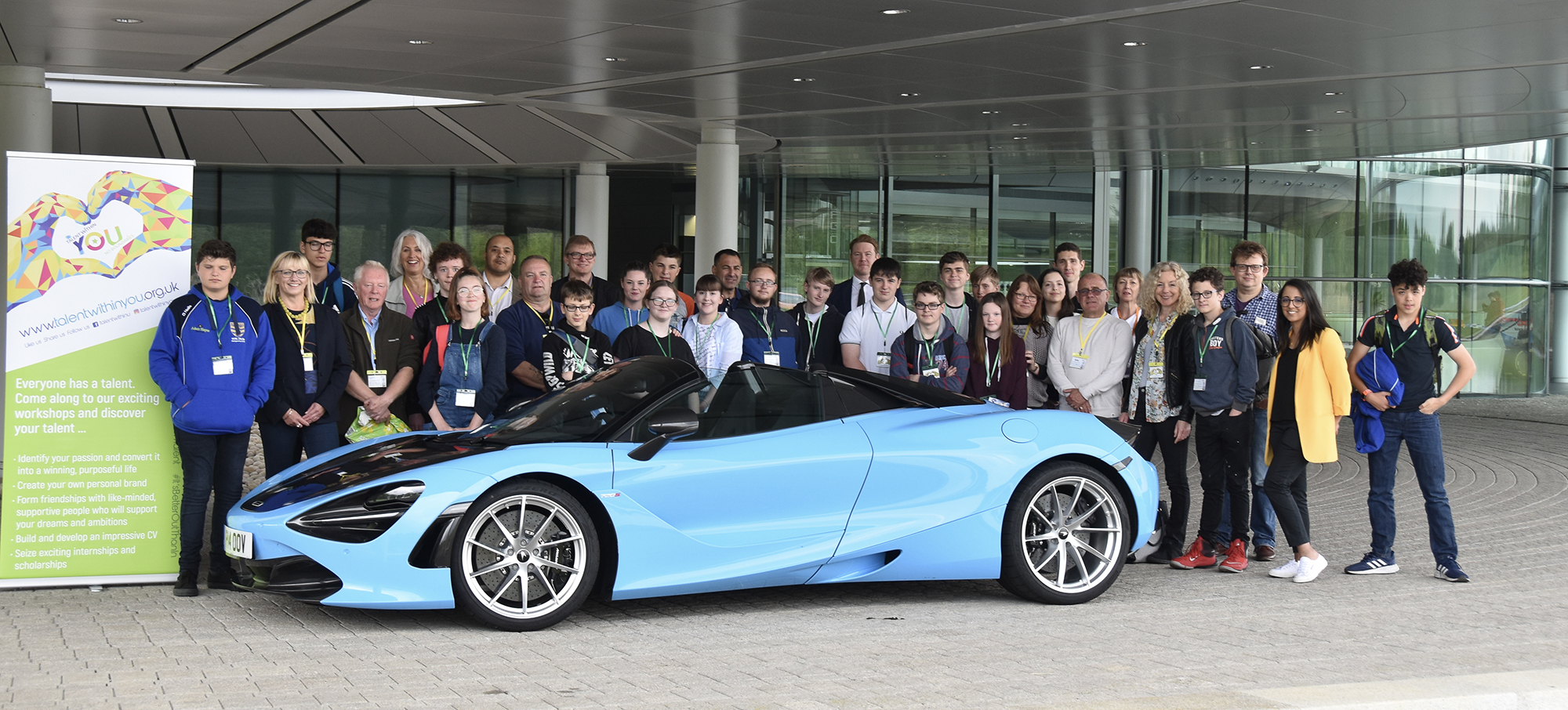 Talent Within You and McLaren Automotive