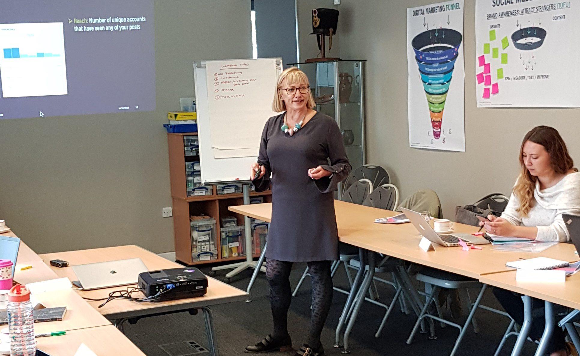 Teaching social media for Chichester District Council - four part workshop