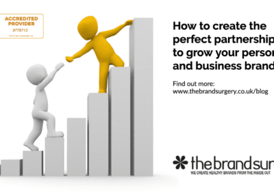 How do partnerships to grow your personal and business brand?