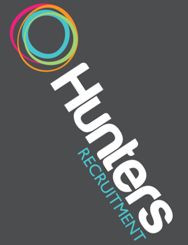 Logo design hunters recruitment shoreham business