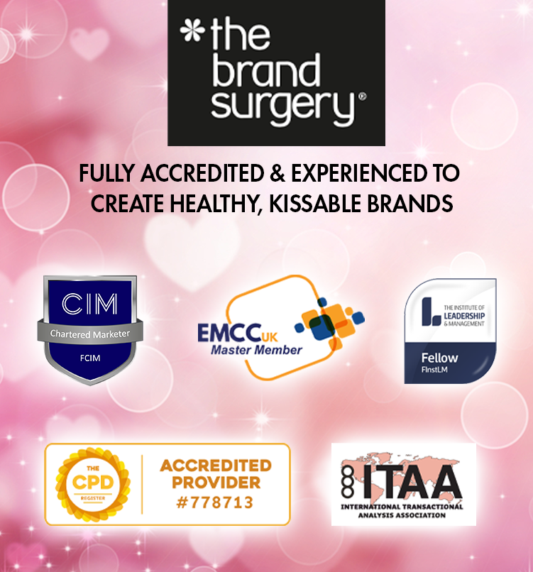 Fully accredited and experienced marketing consultant to create healthy, kissable brands
