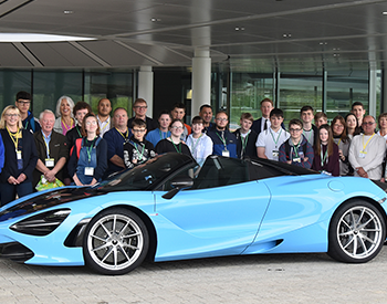 Talent Within You and McLaren Automotive - boost happiness in children by 35%