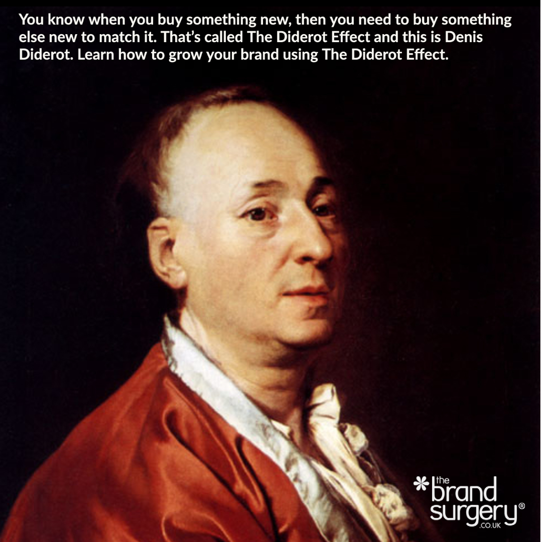 Grow your brand with the Diderot Effect