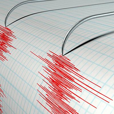 Earthquake seismic business branding